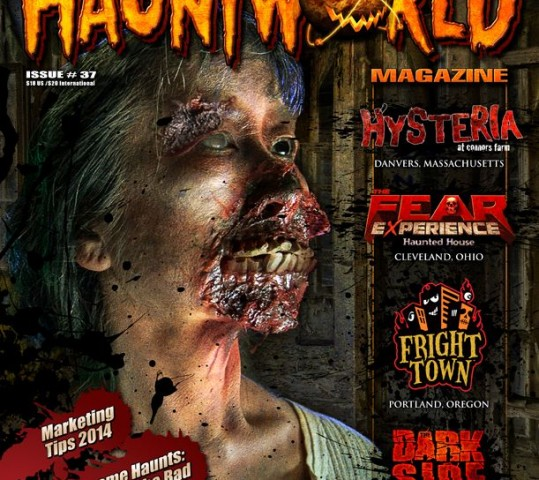 Featured in HauntWorld Magazine